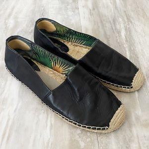 Sam Edelman Black Espadrille Slip On Shoes